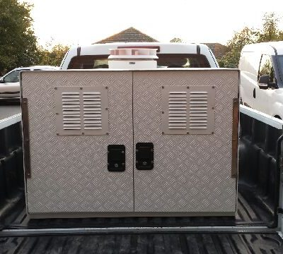 Mobile Gun Dog Kennel 2