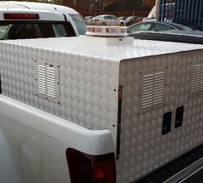 Mobile Gun Dog Kennel