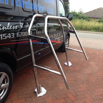 Stainless Steel Double A Frame 1